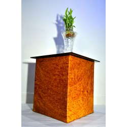 Tigerwood Glass Top Multipurpose Large Size Table