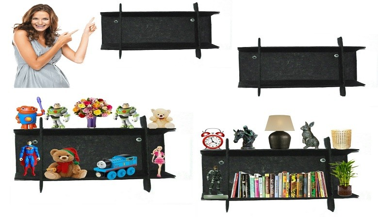 "KartnOri Wall Shelves - BLACKSHEEP 18""x5""x12"""