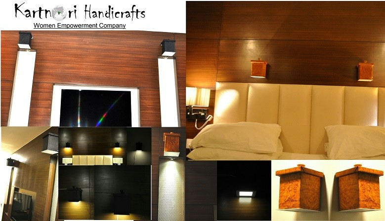 Wall Mounted Lamp Shades - Square Shape
