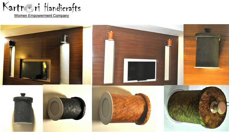 Wall Mounted Lamp Shades - Circular Shape